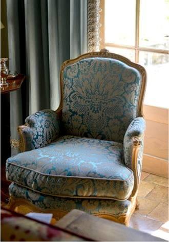 Copie (5) de Rideaux fauteuil Confection Leboulenger Tapissier