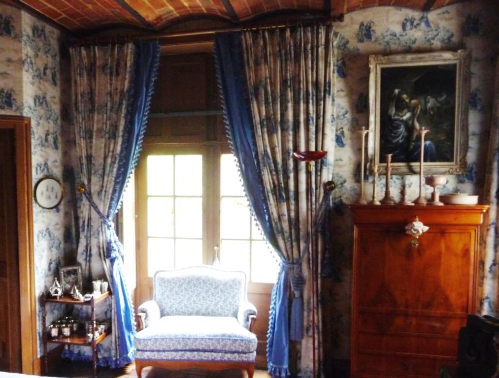 Double rideaux près de Fontainebleau